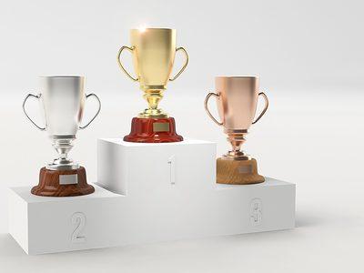 Gewinner Sieger Pokal